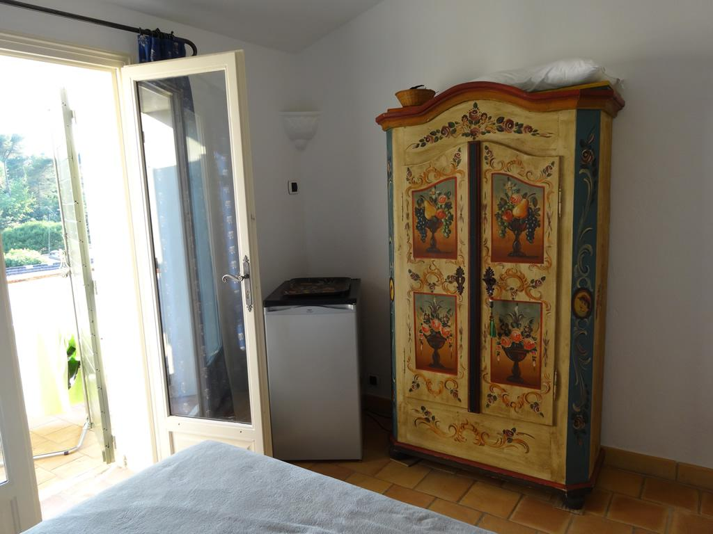 Piece d'art wardrobe in the third bedroom + small fridge which is handy during hot summer