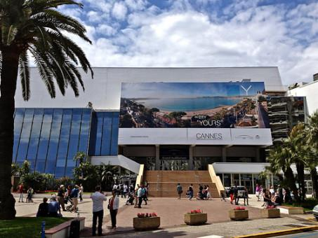 Palais des Festivals is only 5 mins walk from the apartment