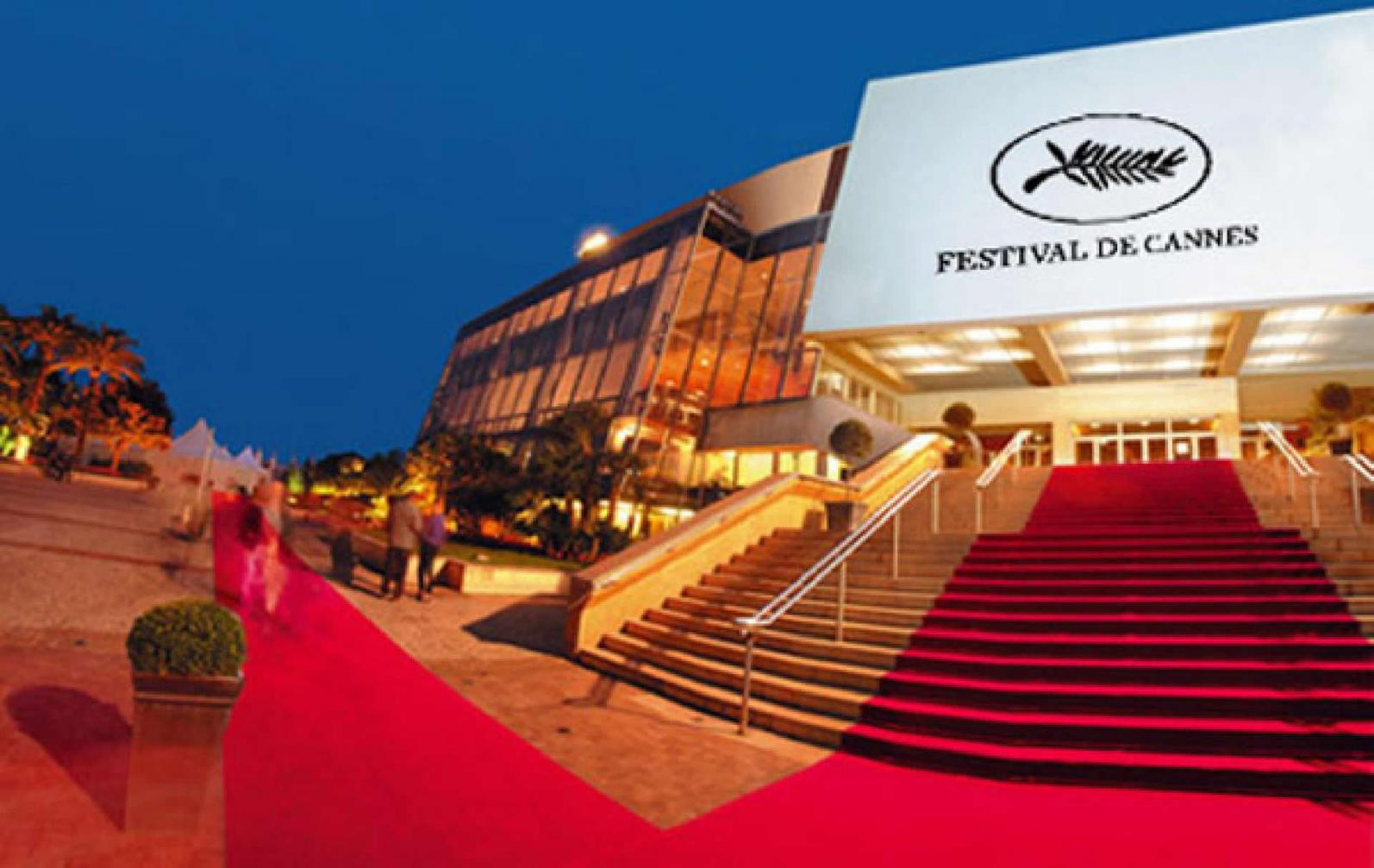 Palais des Festivals is 10 mins easy walk from the apartment